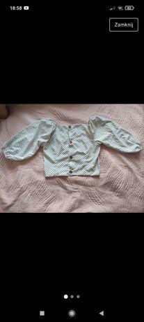 Bluzeczka w grochy