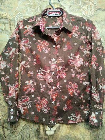 Брендовая рубашка tommy hilfiger (10-11-12 лет)