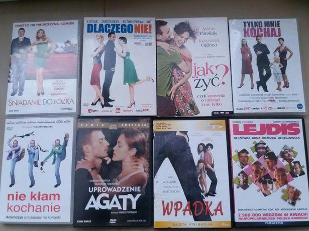 Filmy DVD polskie hity kinowe super cena