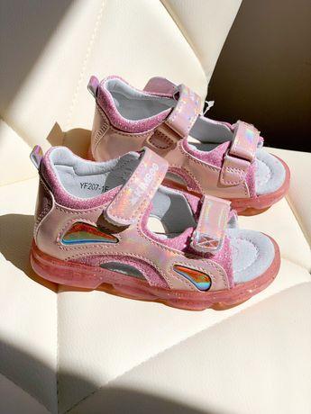 Новинка! Модные летние босоножки сандалии для девочки! 21-26 размер