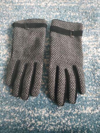 Reserved nowe rękawiczki skórzane S