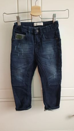 Spodnie jeans Zara 98