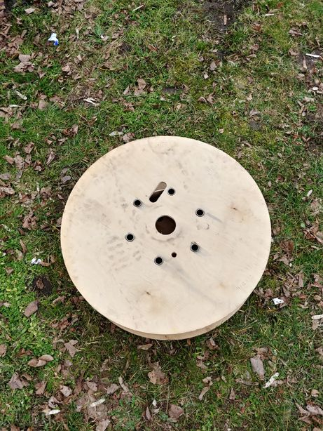 Szpula drewniana średnica 60cm