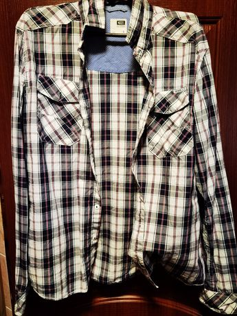 Рубашка cropp в хорошем состоянии размер L