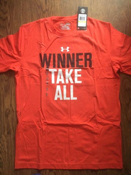 "Under Armour koszulka ""Winner Take All"" rozm M"