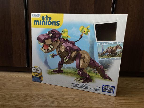 Конструктор «Верхом на динозавре» Mega Blocks