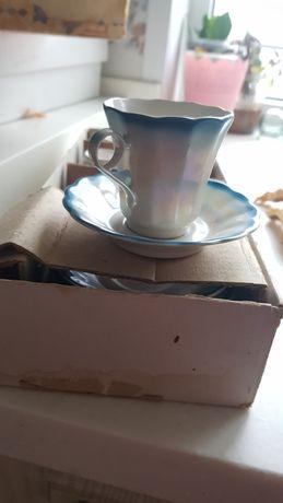 Фарфоровый кофейный сервиз