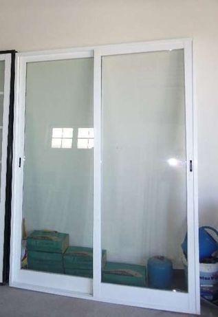 Janela Aluminio Vidro Duplo - Porta Aluminio