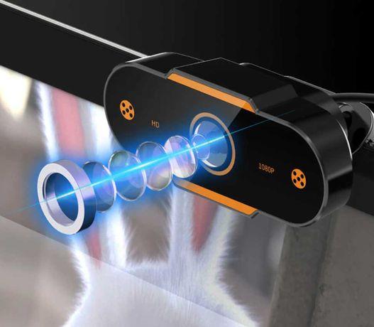 Webcam Hd 2k/1080p/720p/480p para pc, portátil, plug and play, usb