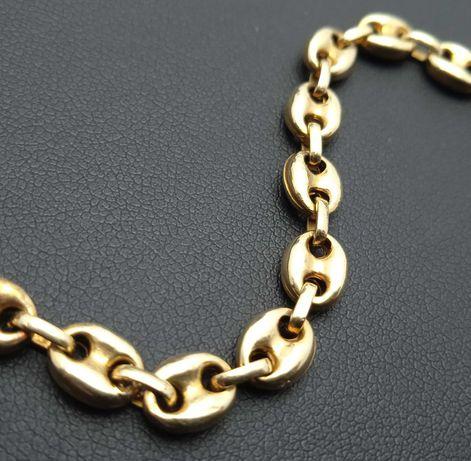 Złota bransoletka 7,87g p585 21cm LOMBRD66