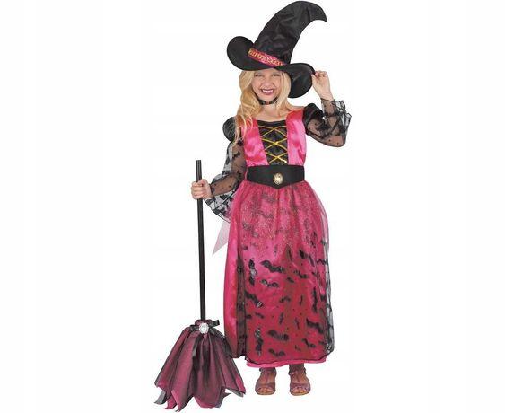 Strój karnawałowy czarownica