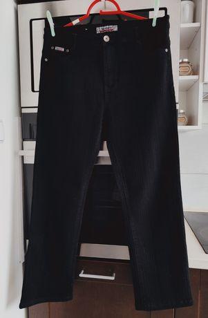 Jak nowe damskie spodnie jeansy XL prążek wysyłka 1zl