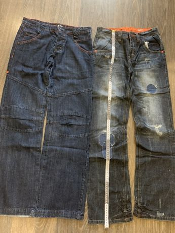 Лот Дитячі джинси на хлопчика Вік 12 років (152 см) / Детские джинсы