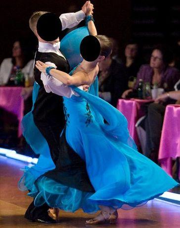 suknia do tańca standardowego klasa D i C (na 155- 165 cm).