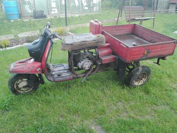 Tuła Murawiej 250 TMZ Motorydwan