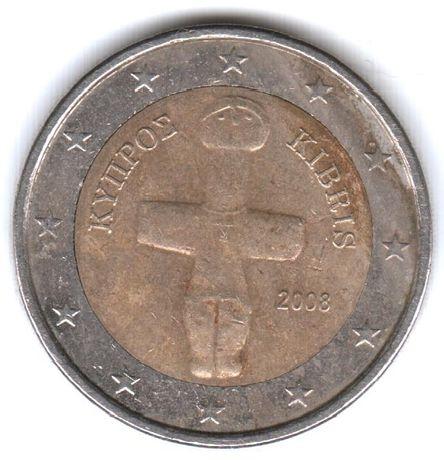 Монеты по 2 евро: Кипр, Австрия