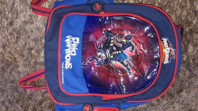 Plecak Power Rangers, stan idealny