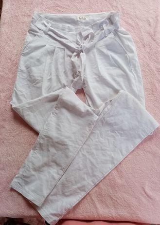 Белоснежные летние брюки