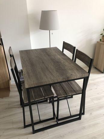 Conjunto mesa e cadeiras loja Casa