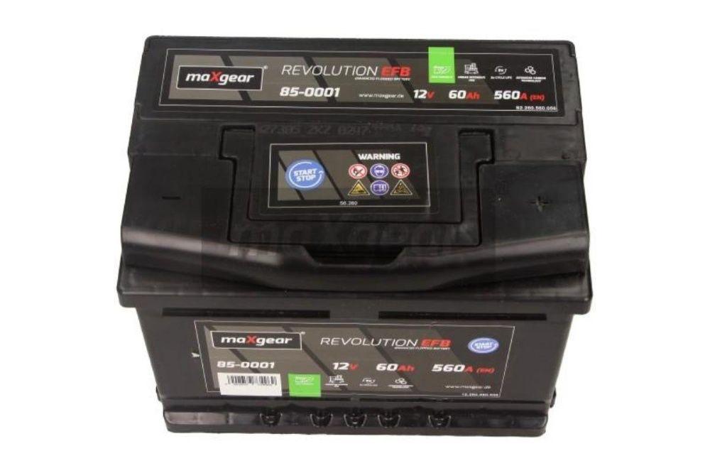 Akumulator maXgear REVOLUTION EFB Start-Stop 12V 60Ah 560A P+ Kraków