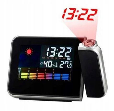 DS-8190 cyfrowy zegar z projektorem