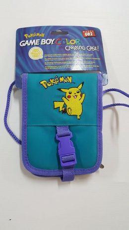 Pokemon Bolsa Azul Nova