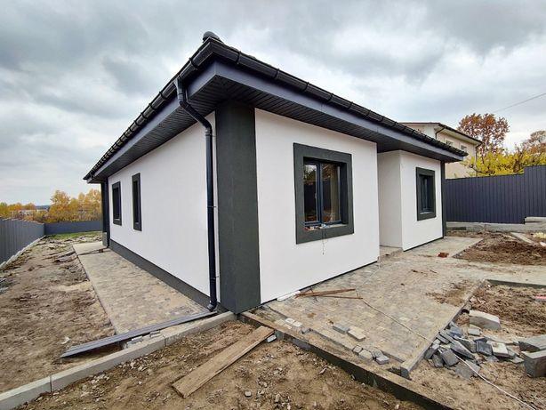 Одноэтажный дом на 10 сотках в коттеджном городке в Ирпене!