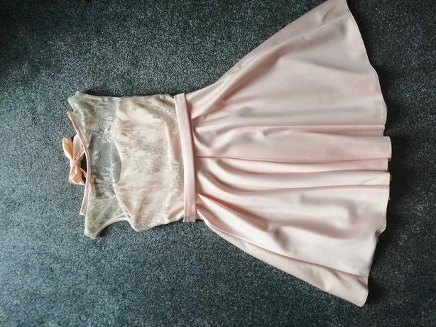 Sukienka balowa rozkloszowana