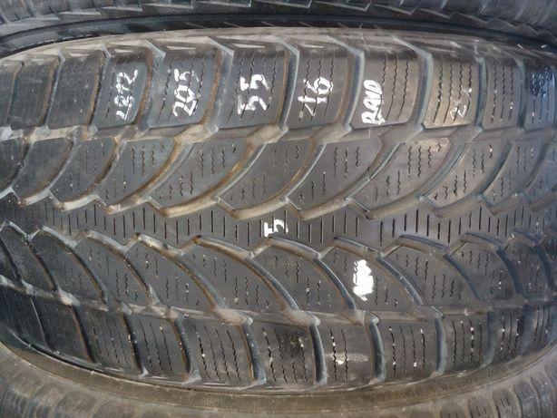 Opona 1 szt zimowa Bridgestone 205/55/16 MONTAŻ Reda