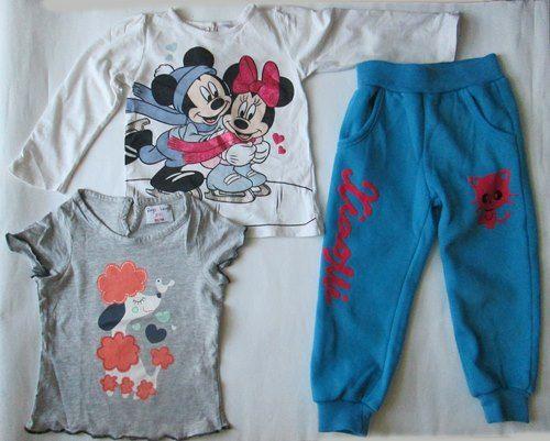 Spodnie dres bluzeczka rękaw koszulka roz 92 - 98 Zestaw Krosno - image 1
