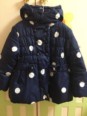 Шикарная курточка Tom Tailor, Miss Grand, Monnalisa, на 5-6-7лет