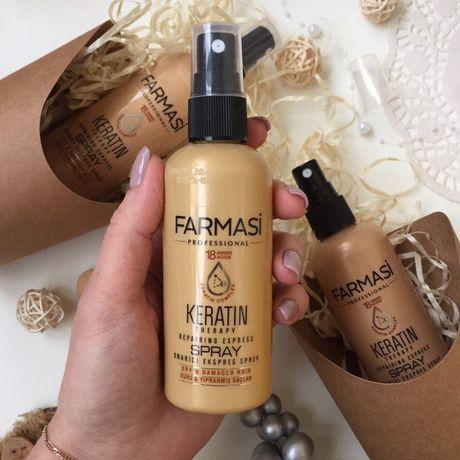 Спрей для волос с кератином Keratin Therapy Farmasi