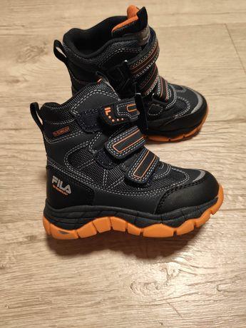 Buty zimowe, śniegowce Fila r.26 nowe