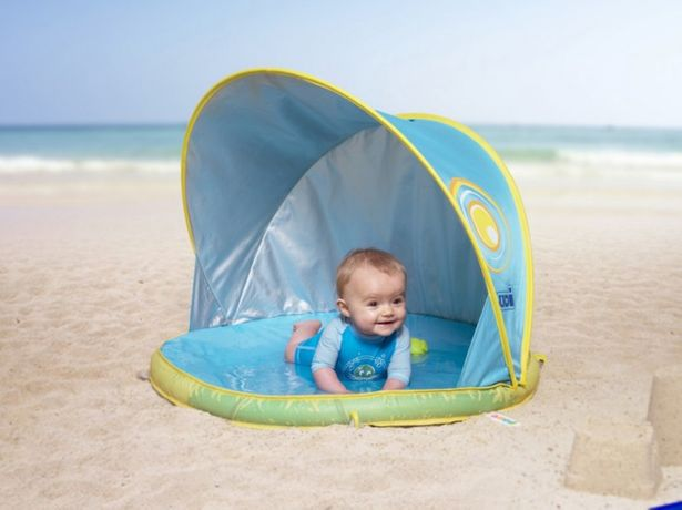 Детская палатка - бассейн