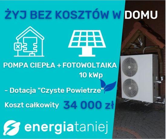 dotacja fotowoltaika + pompa ciepła 23.000 zł