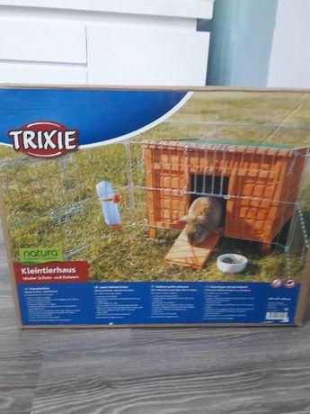 Trixie klatka dla malych zwierzat -drewniana