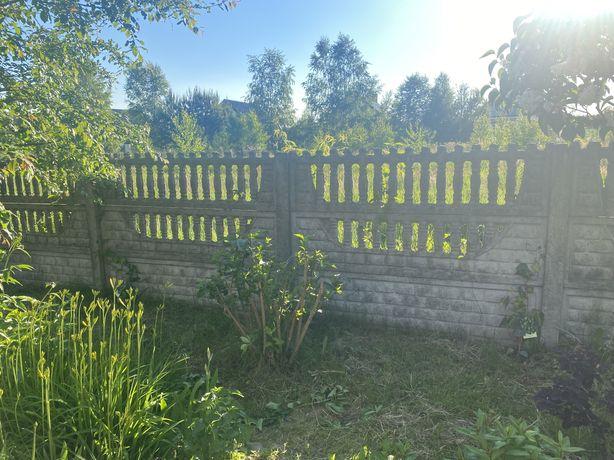 Plot ogrodzenie betonowe plyty