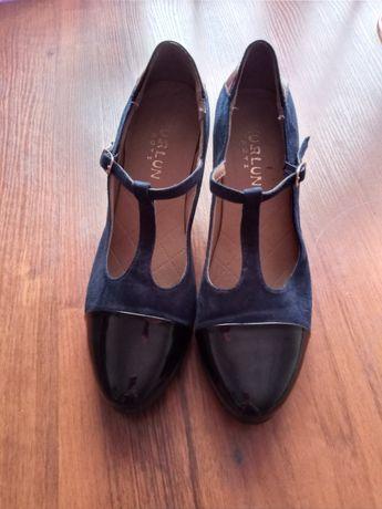 Туфли женские, лакированый носок
