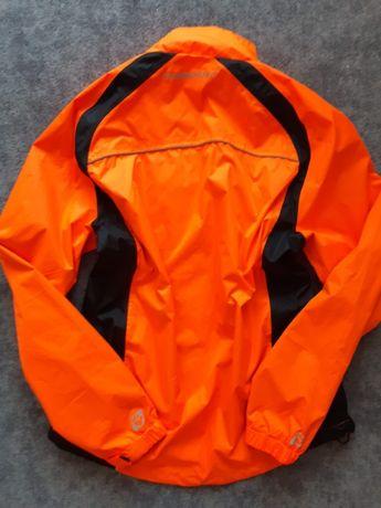 Kurtka sportowa softshell wiatrówka pomarańcz neon czarna XXL XXXL