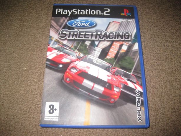 "Jogo ""Ford Street Racing"" PS2/Completo!"