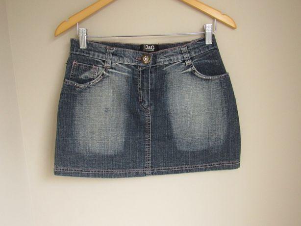 Джинсовая юбка девочке подростку D&G р.42
