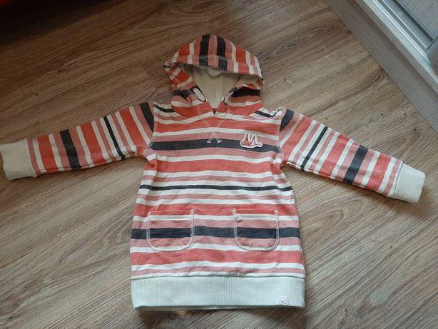 Bluza z kapturem śliczna dziewczynka 2-3lata 98cm