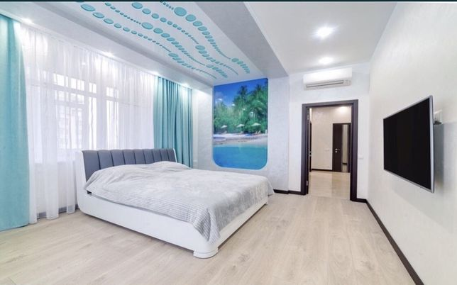 НА ЛЕТО 2 спальни квартира 94м2 с видом на море 1 жемчужина Аркадия