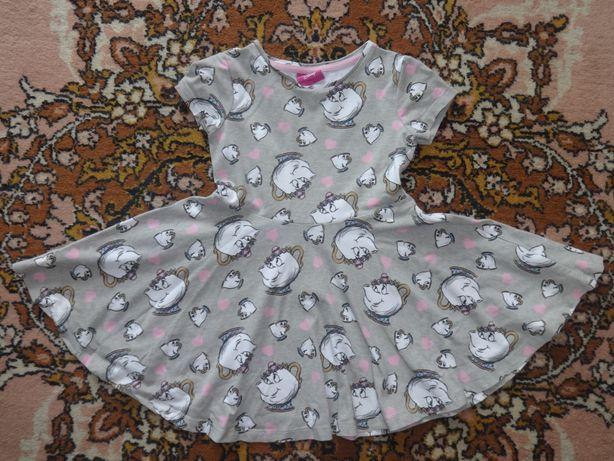 Disney Красивое летнее платье на девочку сарафан 2 3 года 98 см