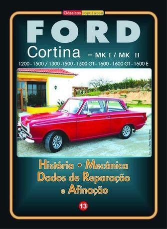 Ford Cortina Mk I e Mk II - Manual Técnico em Português
