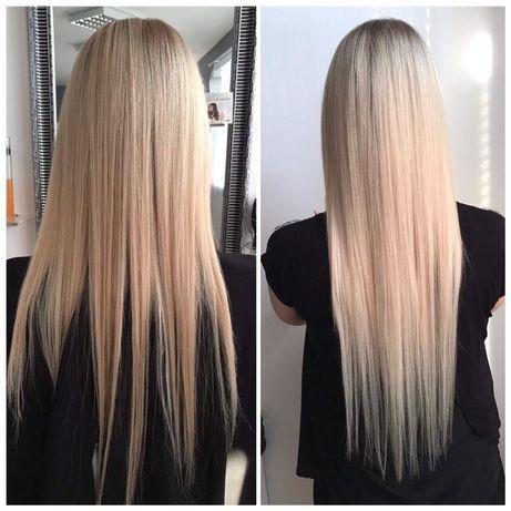 Włosy naturalne-doczepiane 60 cm-24szt sprzedam