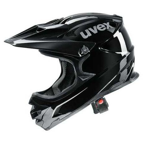 Nowy kask zjazdowy Uvex HLMT 10 Bike r. M 56-58cm rowerowy DH dirt