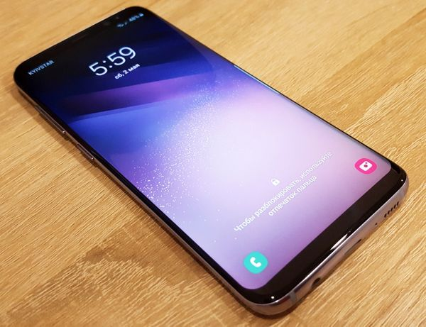Телефон Samsung Galaxy S8 64GB Orchid Gray