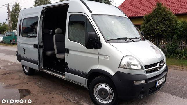 Opel Movano  9 Osób Klima Wersja Osobowa  Master 2.5 CDTI 120 KM Przebieg Udokumentowany