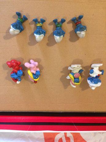 Bonecos estrunfes smurfs pvc 122 diferentes